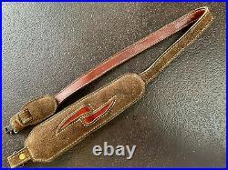 Vintage Torel Padded Suede Leather Rifle Sling