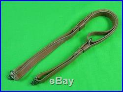 Vintage US Leather Rifle Sling