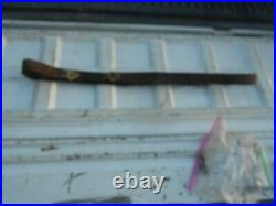 WW1 M-1907 Leather Rifle Sling Springfield 1903 Enfield P-17 1918 DATED