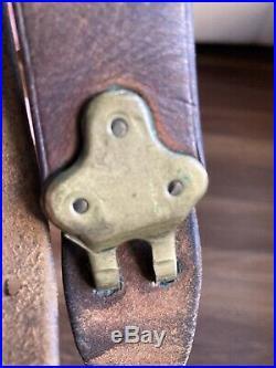 WW1 US M1907 Leather Rifle Sling, Rock Island Arsenal 1917 M1903 Springfield P17