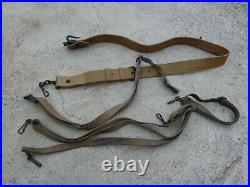 WW2 Post War Lot of 4 Original French MAS FM 24/29 Rifle Leather Slings