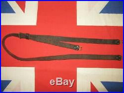 WW2 US Army Springfield / Garand Leather Rifle Sling