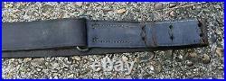 WW2/WW1 M1 Garand M1907 Leather Rifle Sling Springfield 1903 1918 DATED
