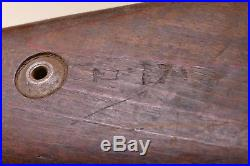 WW2 german K98 Mauser rifle wood stock with Original Leather Sling
