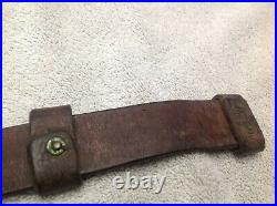 WWI BRITISH SMLE LEATHER RIFLE SLING H. G. R. Ld. 1919 Complete