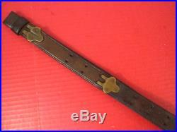 WWI Era US ARMY AEF M1907 Leather Sling M1903 Springfield Rifle No marking #2