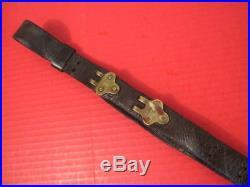 WWI Era US ARMY AEF M1907 Leather Sling M1903 Springfield Rifle No marking #5