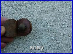 WWI Ersatz French Made Leather Rifle Sling BERTHIER MAS Brass Buckle