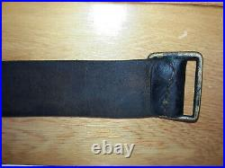 WWI French Leather Rifle Sling 1909 Fusil de Infanterie Modèle mle. 1886 Lebel