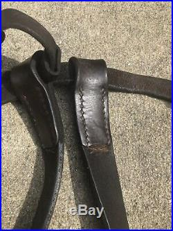 WWI LEATHER SLING for MOSIN NAGANT Rifle m91/30 M91 M44 M38 WWII Surplus RARE