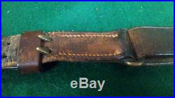 WWI Leather M-1907 Rifle Sling Dated 1918 Boyt Original, good condition
