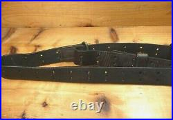WWI US 03 A3 Springfield Leather Rifle Sling