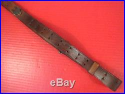 WWI US ARMY AEF M1907 Leather Sling M1903 Springfield Rifle Dtd HOYT 1918 #2