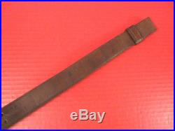 WWI US ARMY AEF M1907 Leather Sling M1903 Springfield Rifle Dtd HOYT 1918 #3