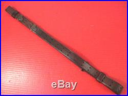 WWI US ARMY AEF M1907 Leather Sling M1903 Springfield Rifle L-F Co. 1917 #1