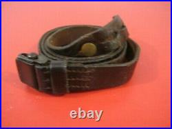 WWII Era German Leather Sling for the K98 Mauser Rifle Original NICE