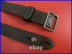 WWII Era German Leather Sling for the KKW Mauser Training Rifle Original NICE