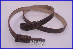 WWII German K98 Brown Leather Rifle Slings X 5