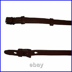 WWII German Mauser 98K Rifle Sling K98 Mid Brown Repro x 10 UNITS j707