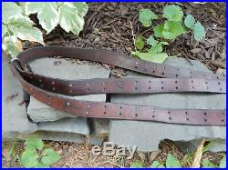 WWII Leather M1907 M1 GARAND 03 SPRINGFIELD BOYT 44 Rifle Sling GREAT CONDITION