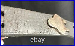 WWII US ARMY USMC Leather Rifle Sling Springfield Garand M1907 Boyt 1942
