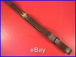 WWII US Army M1907 Leather Sling for Browning M1918 BAR Rifle Original XLNT