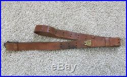 WWII US M1 Garand Rifle Leather Sling Boyt Army USMC