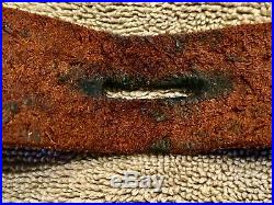 WWII WW2 Japanese Arisaka Leather Rifle Sling Near Mint