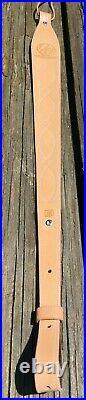 Weatherby Rifle/Shotgun Wyoming USA Made leather Sling -Some International ship