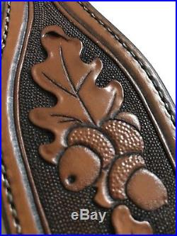 Western Americana SASS Cowboy Action RROW TOOLED SPORTING RIFLE SLING #7