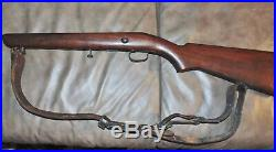 Winchester Model 69 walnut stock 22lr with leather sling and swivels