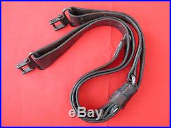 Winchester SUPER GRADE Swivels 1 1/4 USED with Vintage Period 1 Leather Sling
