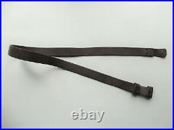 Ww1 Rare 14 Ptn Leather Rifle Sling