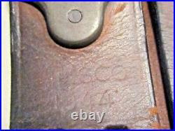 Ww2 1944 Us Military M1 Garand / Springfield M-1907 Leather Rifle Sling Milsco